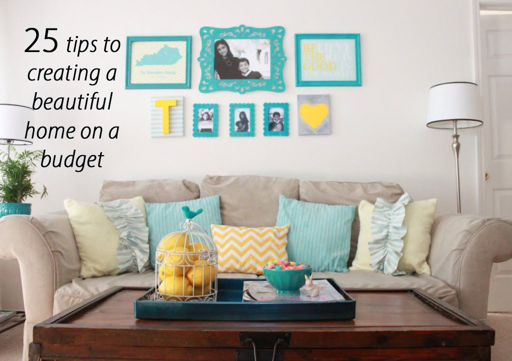 Decorating your home on a budget home design for Home decor on a budget